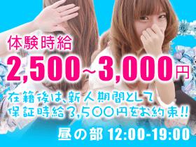 体験時給2,500~3,000円!!在籍後は新人期間として保証時給3,500円をお約束!!
